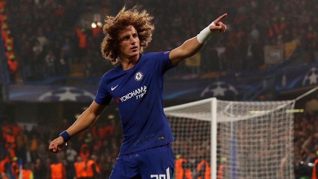 David Luiz Diganti di Awal Babak Kedua, Ini Penjelasan Conte