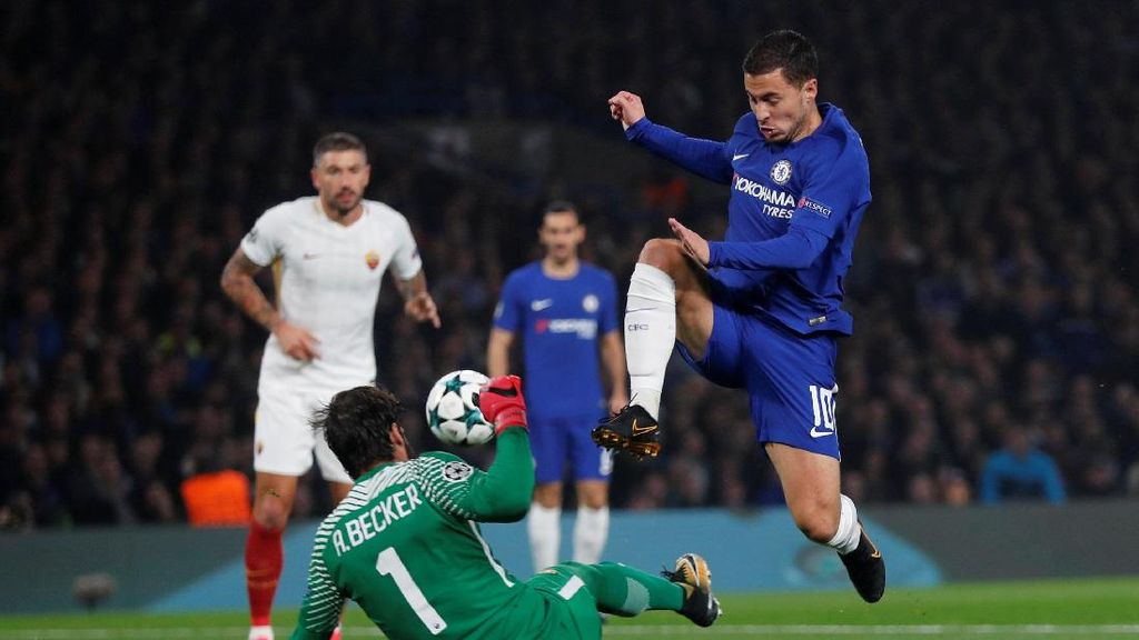 Chelsea Sementara Unggul 2-1 atas Roma