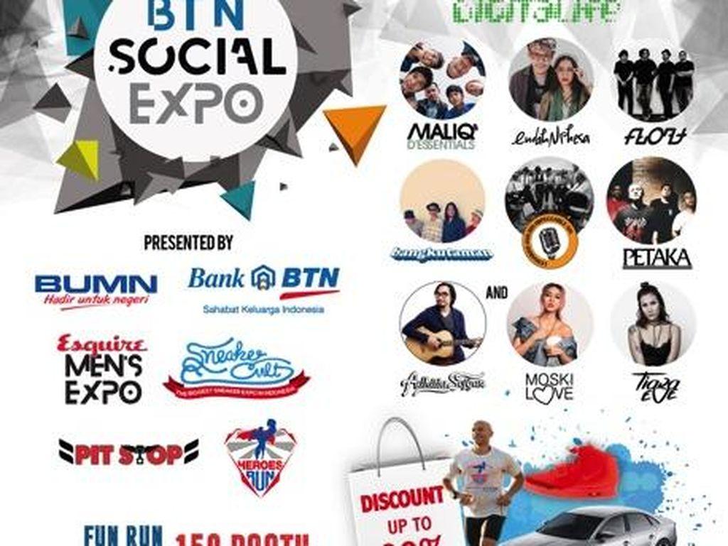 BTN Social Expo Tawarkan Diskon 90% Produk Ternama