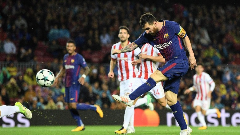 Tembus 100 Gol di Kompetisi Eropa, Messi Masih Tertinggal dari Ronaldo