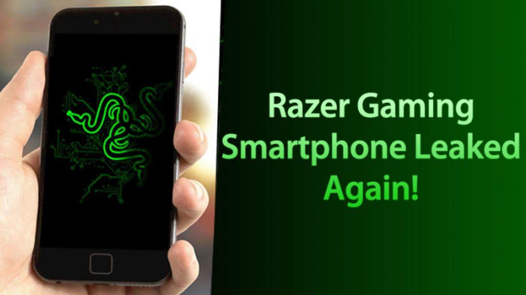 Inikah Tampak Belakang Smartphone Razer?