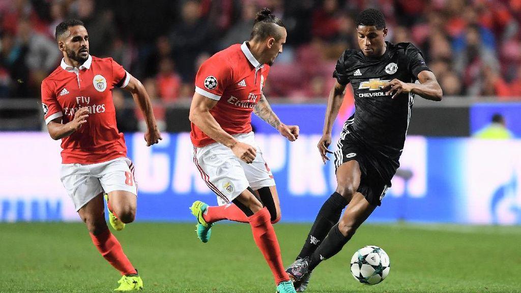 MU Tundukkan Benfica 1-0