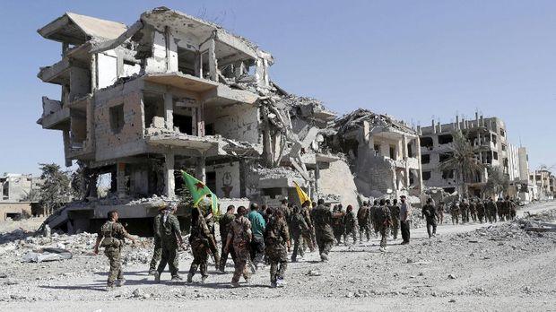 ISIS kehilangan sebagian besar wilayahnya di Timur Tengah.