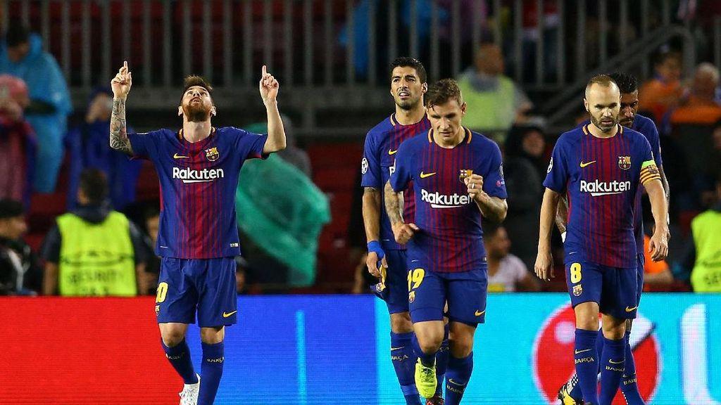 Pemanasan Barcelona dan Madrid Jelang Liga Champions