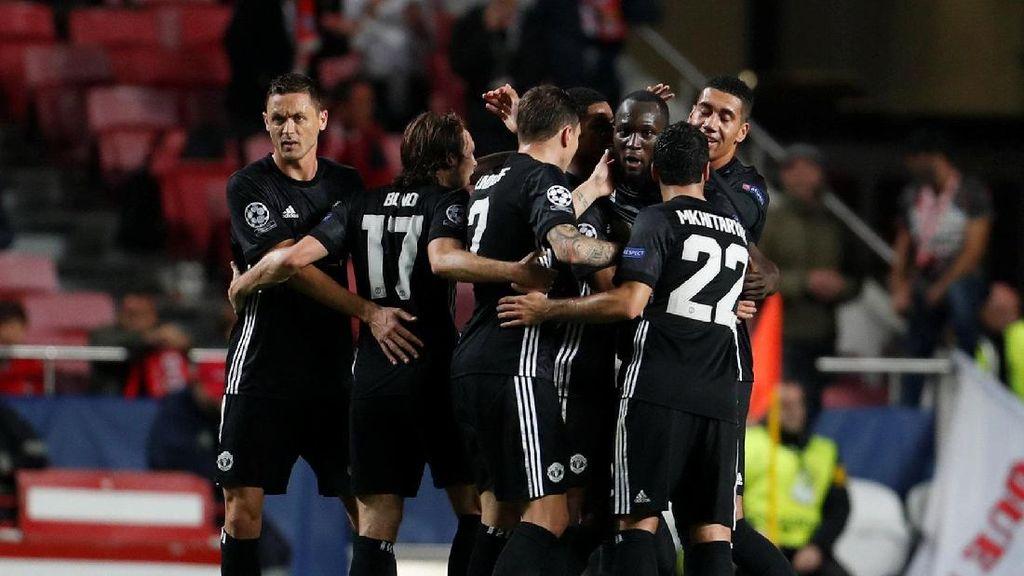 Kemenangan Tipis Setan Merah di Kandang Benfica