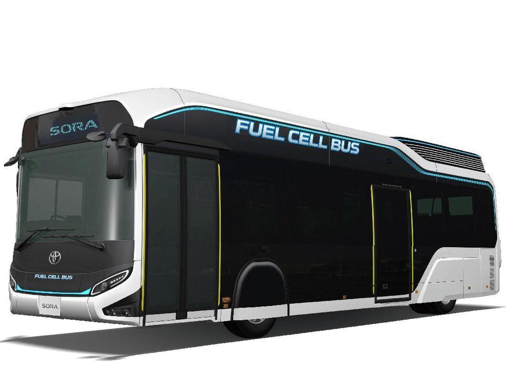 Sora, Bus Bertenaga Hidrogen dari Toyota