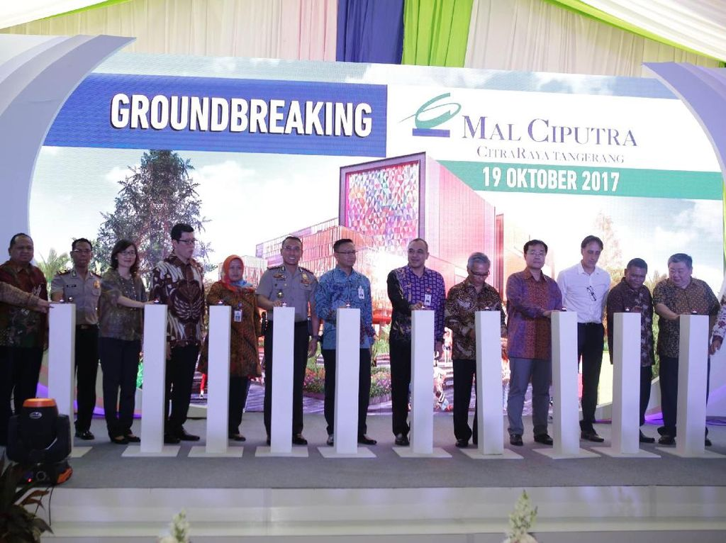 Ciputra Bangun Pusat Belanja Terbesar di Tangerang Barat