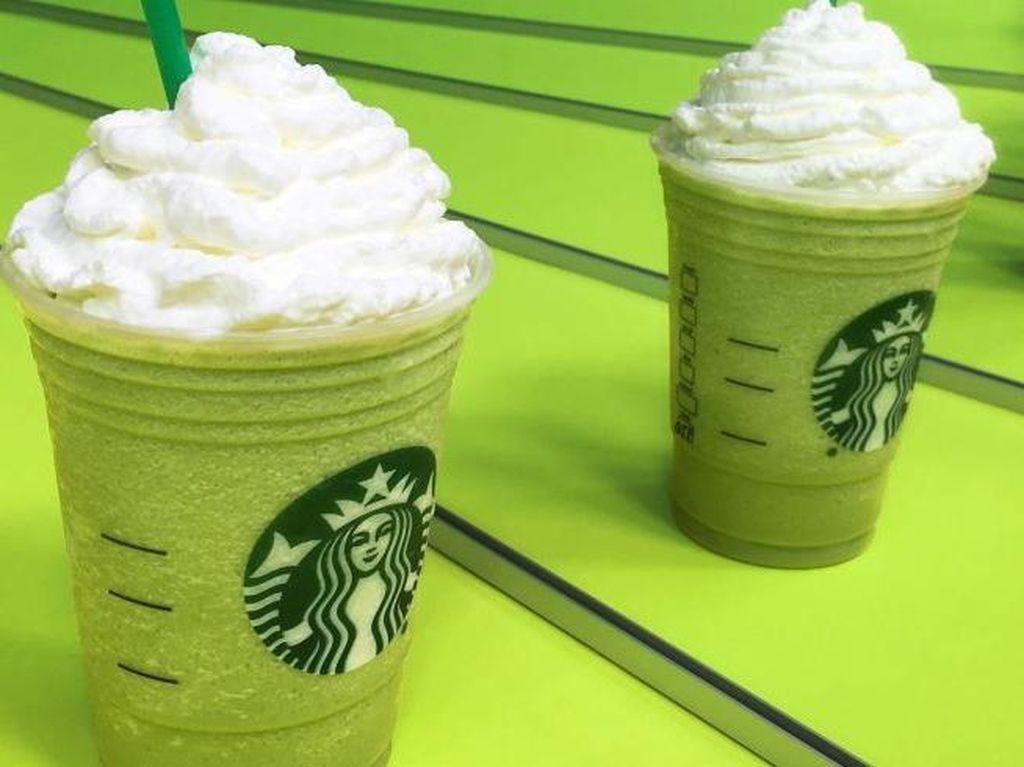 Hii! Ada Zombie Frappuccino dengan Whipped Cream Otak