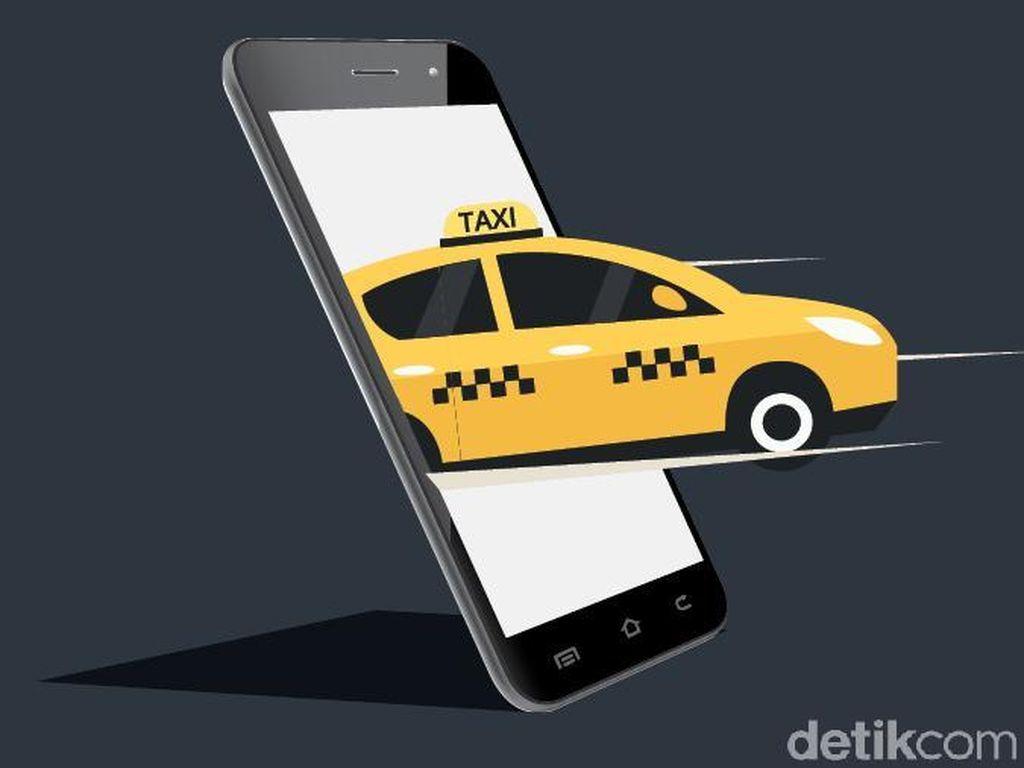 Efek PSBB, Driver Taksi Online: Dapat Rp 100 Ribu Aja Susah