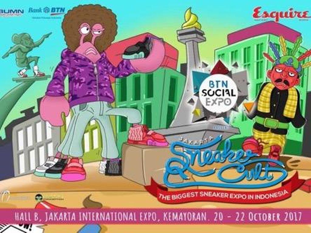 BTN Social Expo Hadirkan 100 Booth Sneakers di Jakarta Sneaker Cult