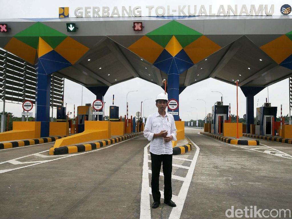 Langkah Jokowi Gencar Bangun Infrastruktur Dikritik