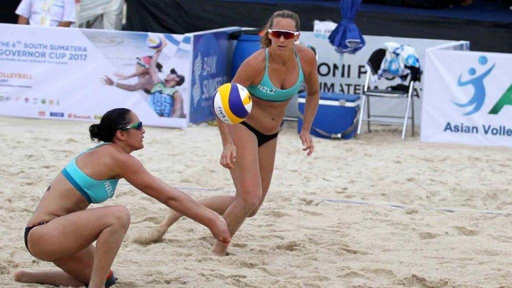 Voli Pantai Pemanasan Jelang Asian Games