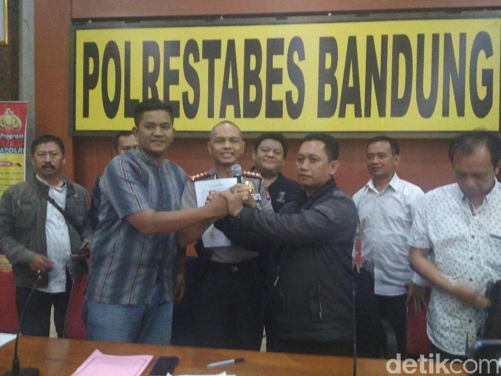 Sopir Online dan Konvensional Komitmen Jaga Bandung Kondusif