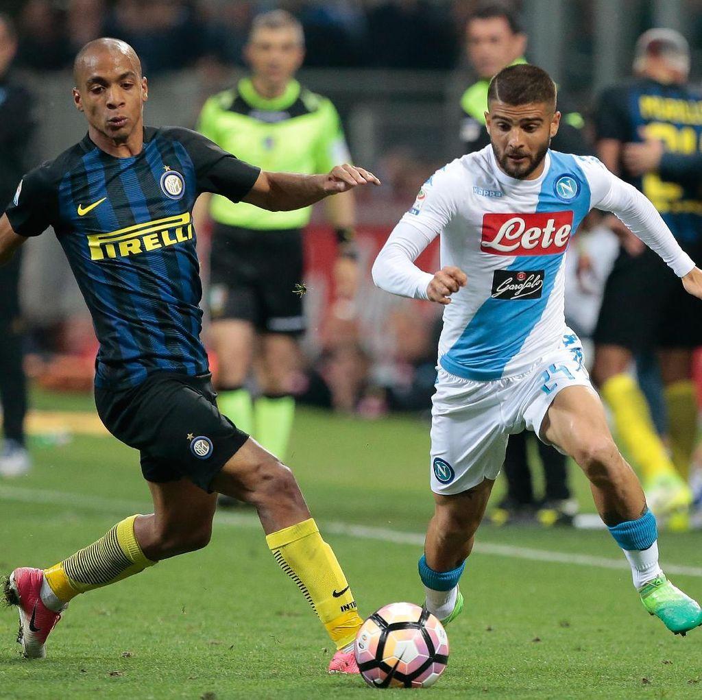 Markas Napoli Angker untuk Inter