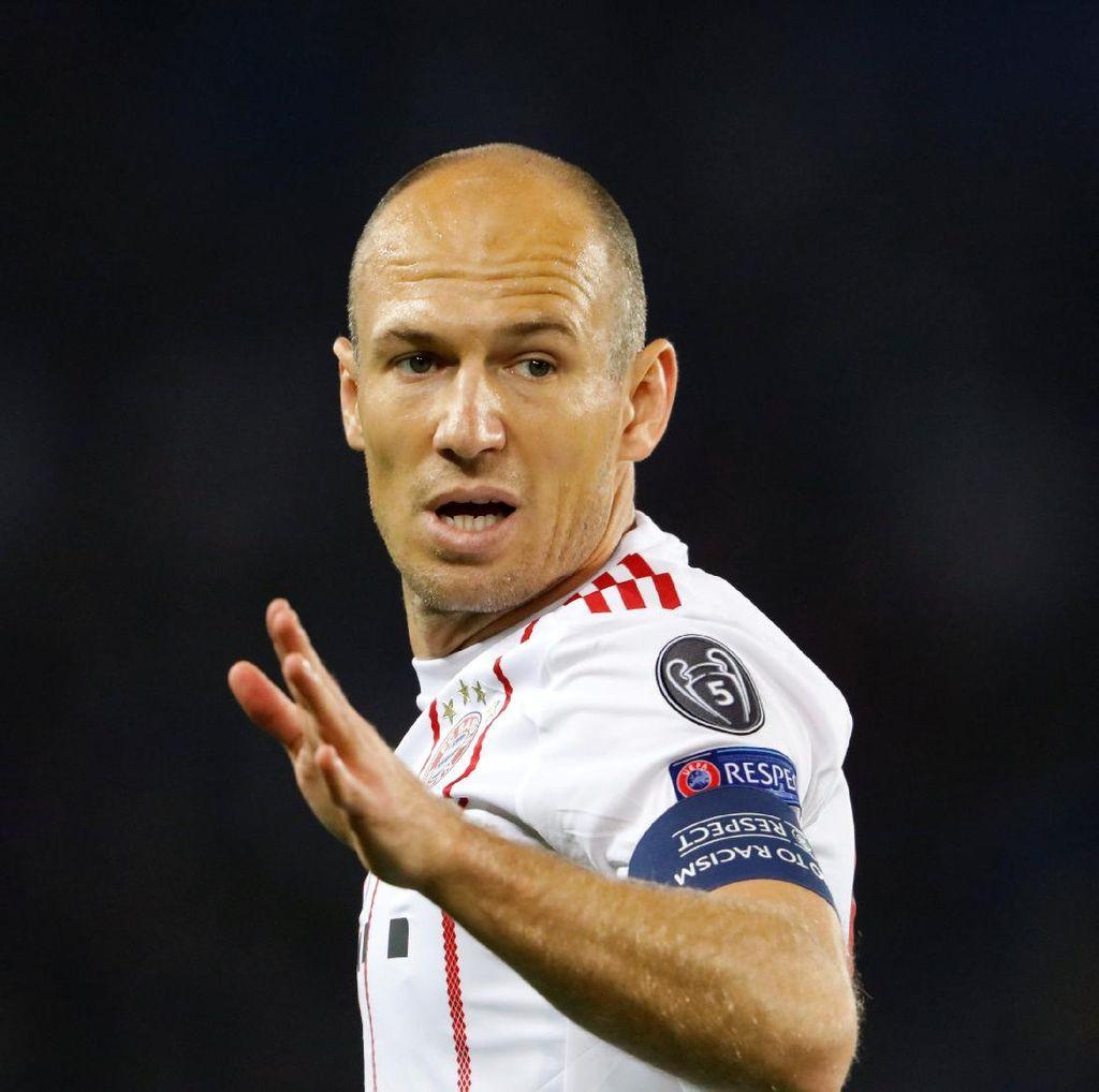 Robben Belum Ditawari Kontrak Baru di Bayern