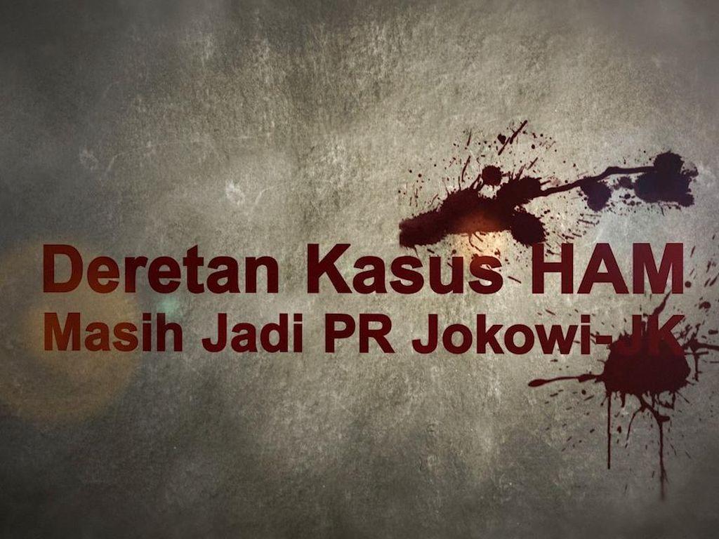 Deretan Kasus HAM yang Masih Jadi PR Jokowi-JK