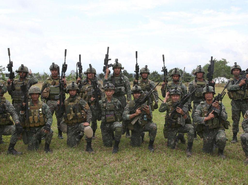 Ini Tentara Istimewa Filipina yang Diutus untuk Gempur ISIS di Marawi