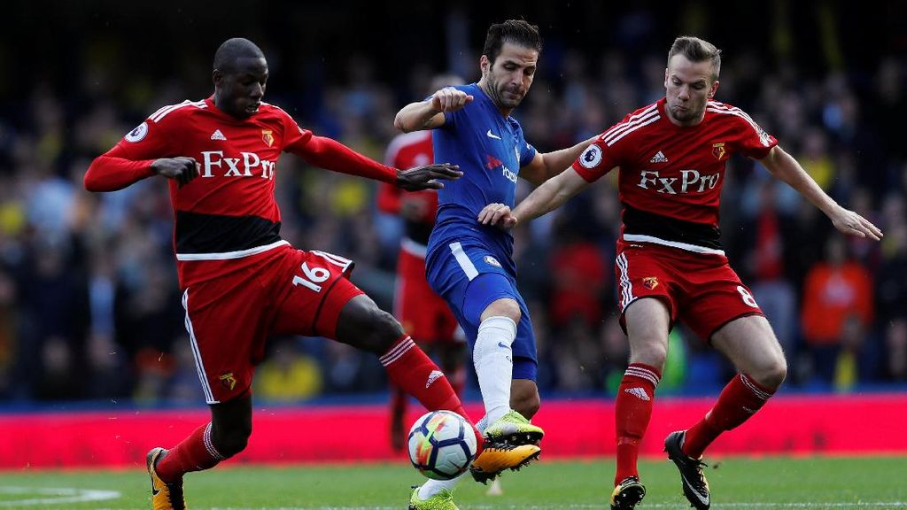 Turun Minum, Chelsea vs Watford Imbang 1-1