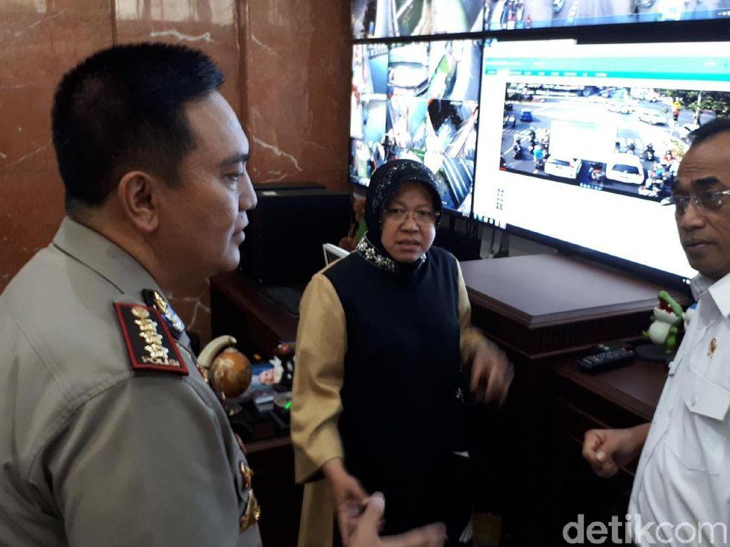 Menhub Ingin Kota Lain Tiru Surabaya Atasi Persoalan Transportasi