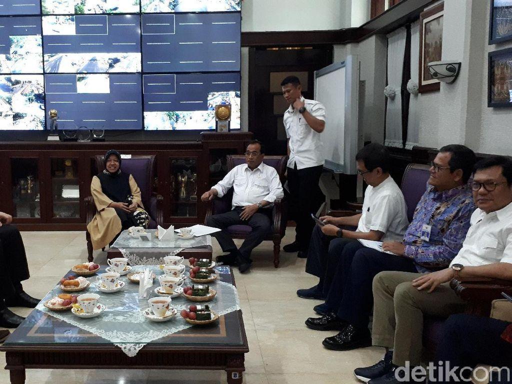 Menhub Apresiasi Kerja Keras Pemkot Surabaya untuk Wujudkan Trem