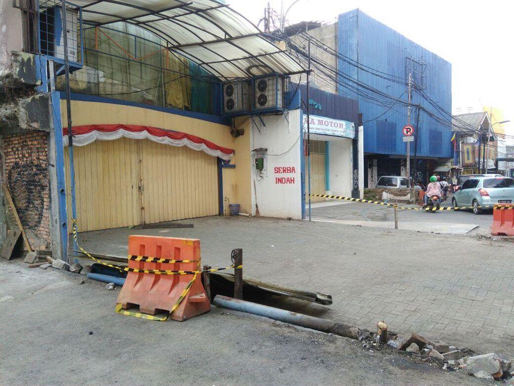 Ini Lahan di Fatmawati yang Dibebaskan Gubernur Anies untuk MRT