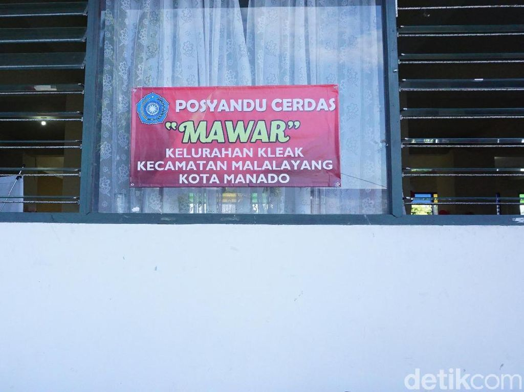Potret Posyandu Cerdas yang Multifungsi di Sulut