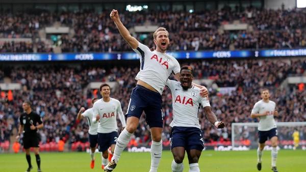 Kane Dua Gol, Spurs Hantam Liverpool 4-1