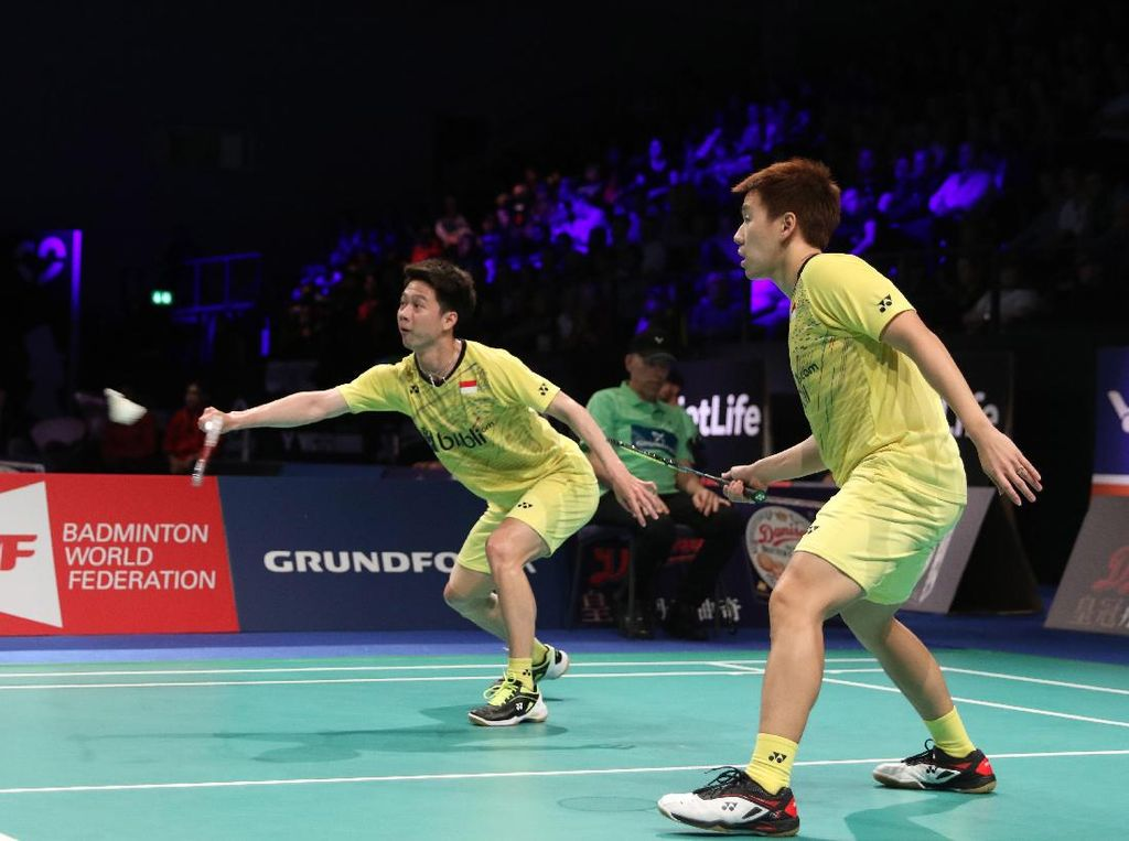 Kevin/Marcus ke Final All England 2020