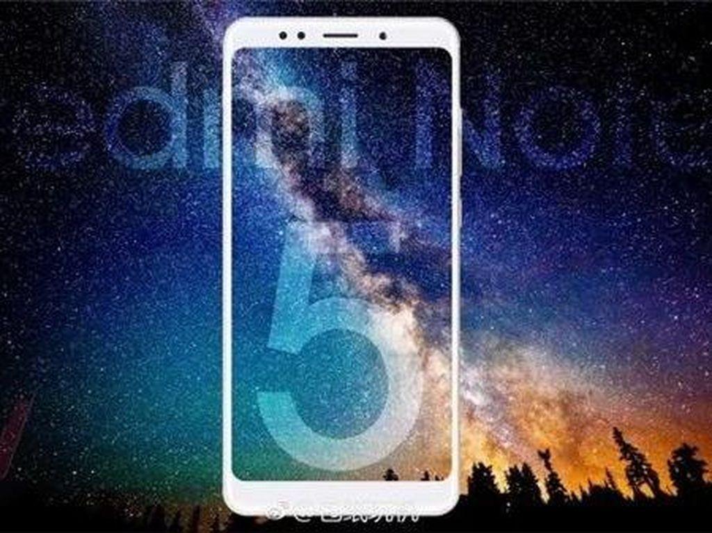 Mengintip Desain Xiaomi Redmi Note 5