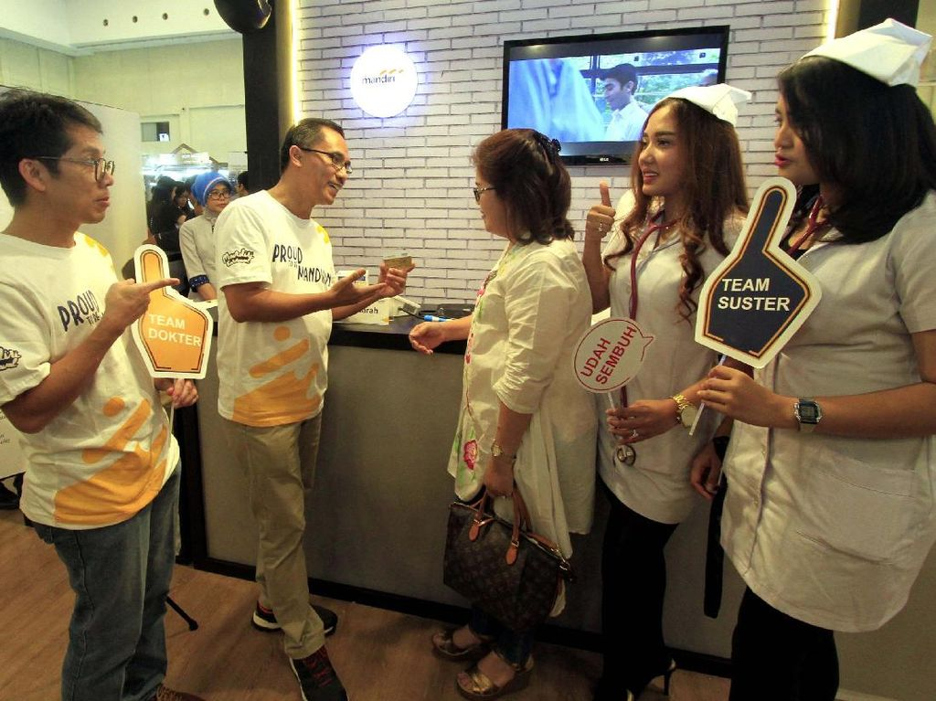 Cek Kesehatan Gratis di Pekan Raya Indonesia 2017
