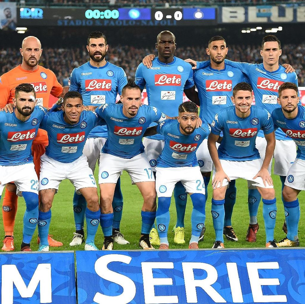 Napoli Lebih Pentingkan Serie A daripada Liga Champions