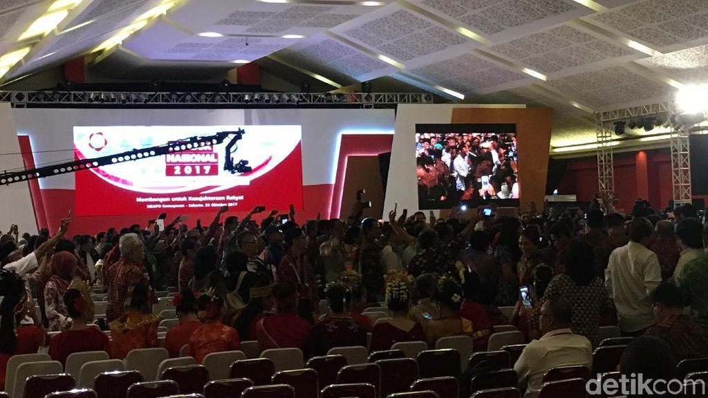 Jokowi: Hasil Rembuk Nasional 2017 Bisa Jadi Nawacita Kedua