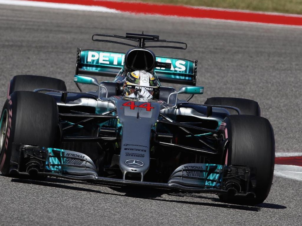 Hamilton Lebih Dekat dengan Titel Juara F1 Usai Menang di Austin