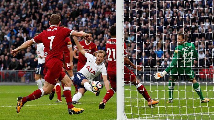 Spurs akan menghadapi Liverpoool di Wembley Stadiu, (Matthew Childs/Action Images via Reuters)