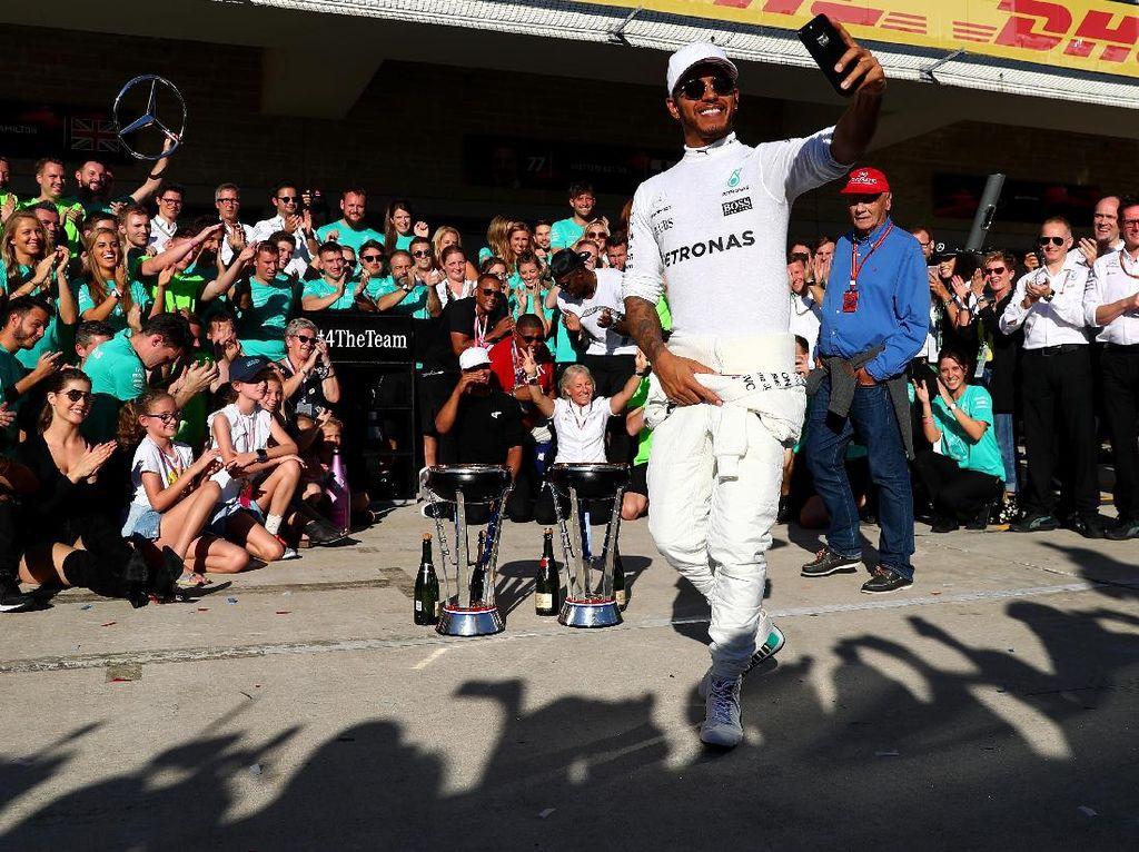 Mercedes Juara Dunia Konstruktor Lagi
