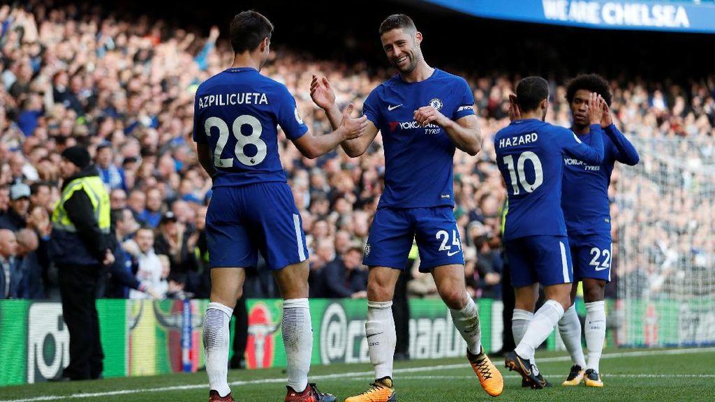 Chelsea Tercecer dari City, Cahill: Musim Lalu Juga Begitu