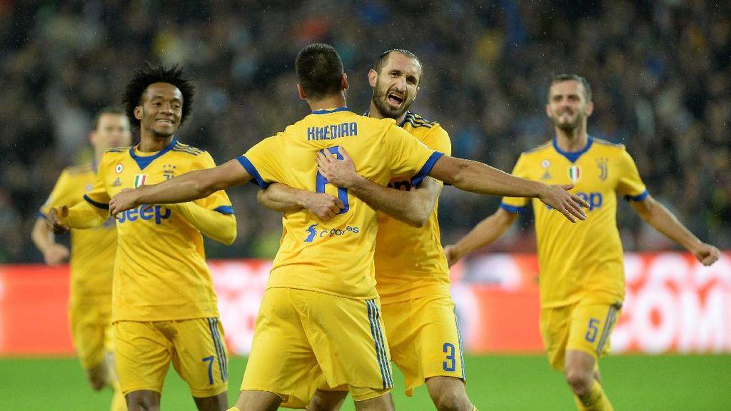 10 Pemain Juventus Hancurkan Udinese 6-2, Khedira Hat-trick