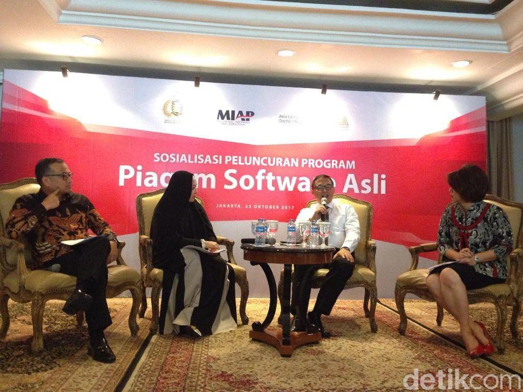 Peminat Software Bajakan Masih Tinggi, Sertifikasi Jadi Solusi?