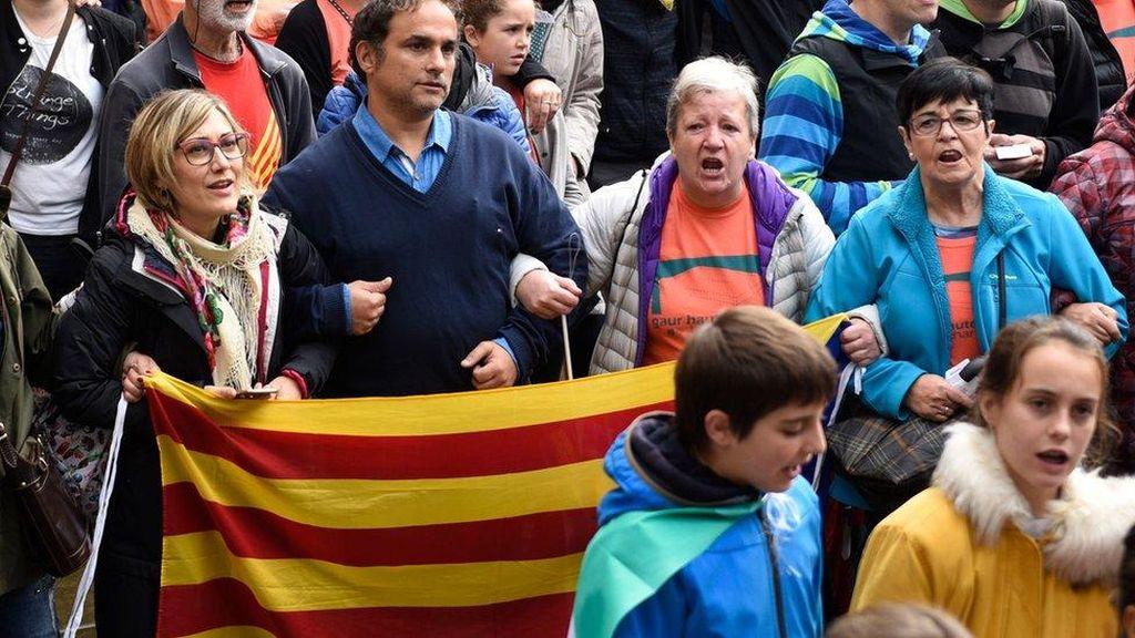 Spanyol Bantah Kudeta Wilayah Otonom Catalunya