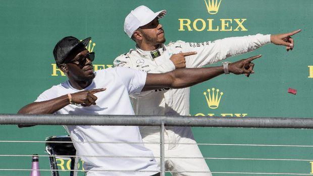 Nonton F1, Usain Bolt Juga Komentari Kekalahan MU