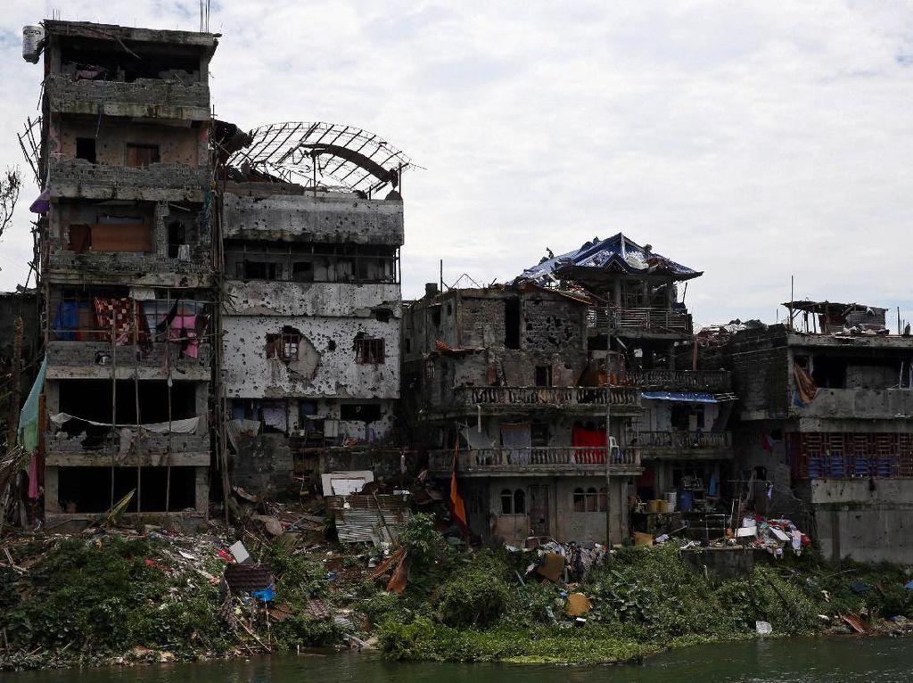 Beginilah Kondisi Kota Marawi Setelah Terbebas dari ISIS
