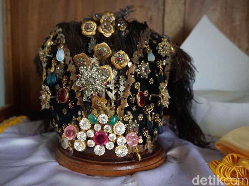 Foto: Mahkota Keramat Sultan Bacan