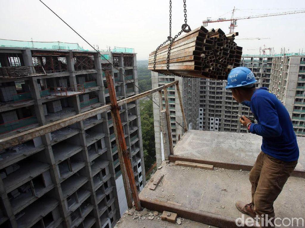 Geliat Pembangunan Hunian Bertingkat di Pinggiran Jakarta