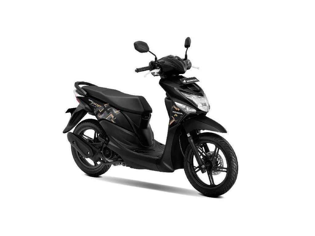 Warna-warni Honda BeAT POP eSP Model Baru