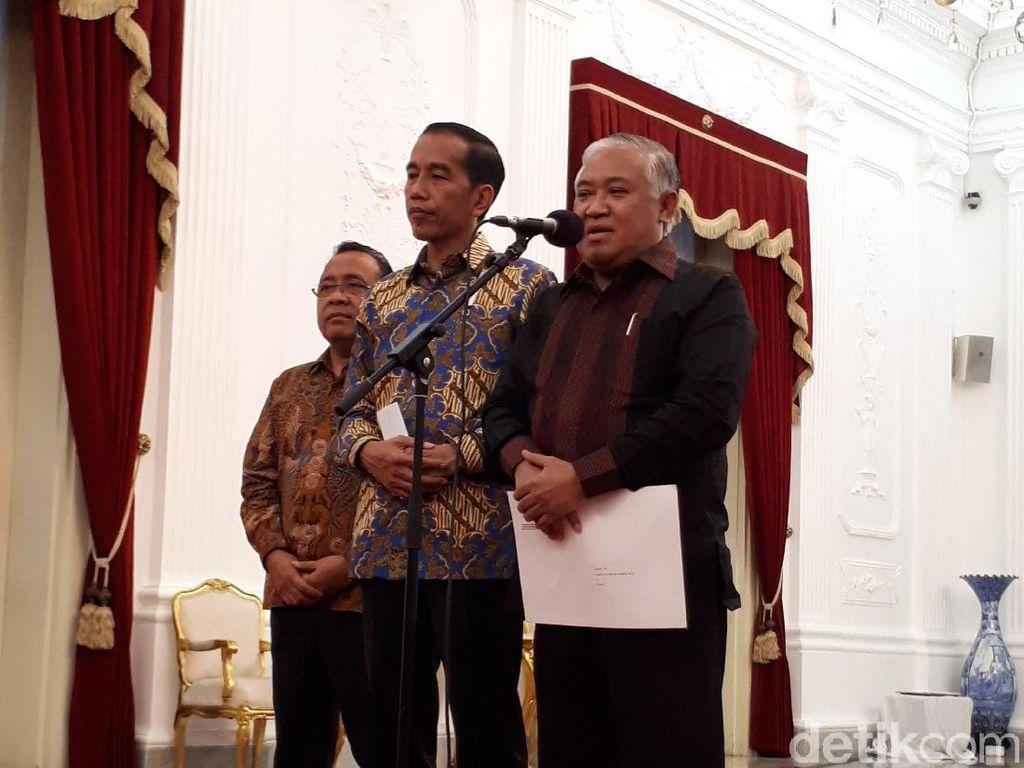 Tunjuk Din Jadi Utusan Khusus, Jokowi: Awalnya Beliau Ragu