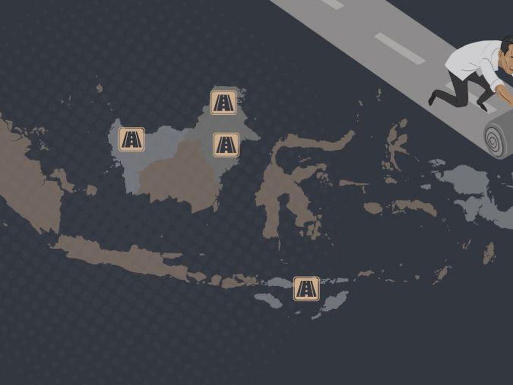 Ini Rincian Jalan Perbatasan dan Papua yang Dibangun Jokowi