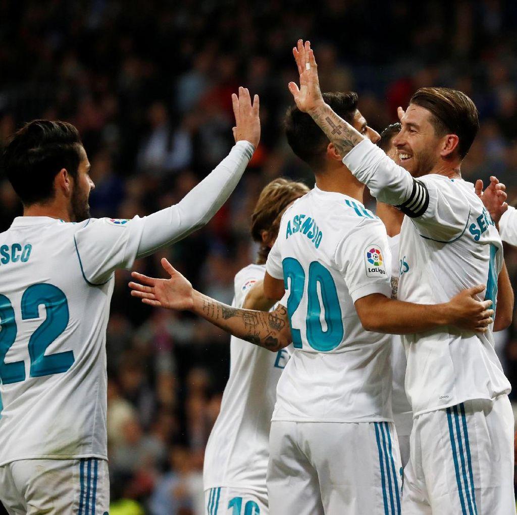 Madrid Tekuk Eibar Tiga Gol Tanpa Balas