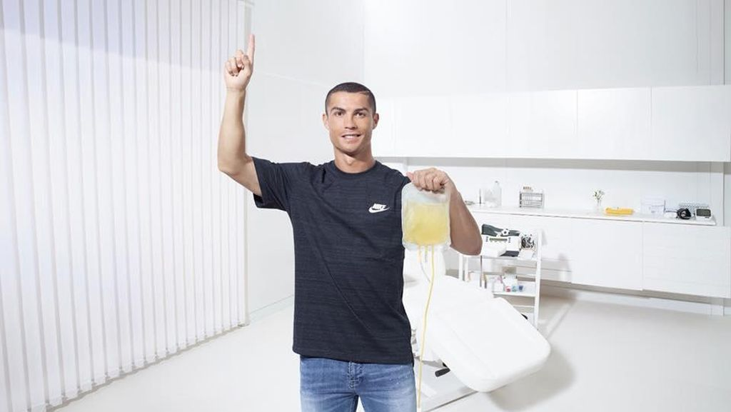 Cristiano Ronaldo, Pemain Sepakbola Terbaik Dunia yang Doyan Donor Darah