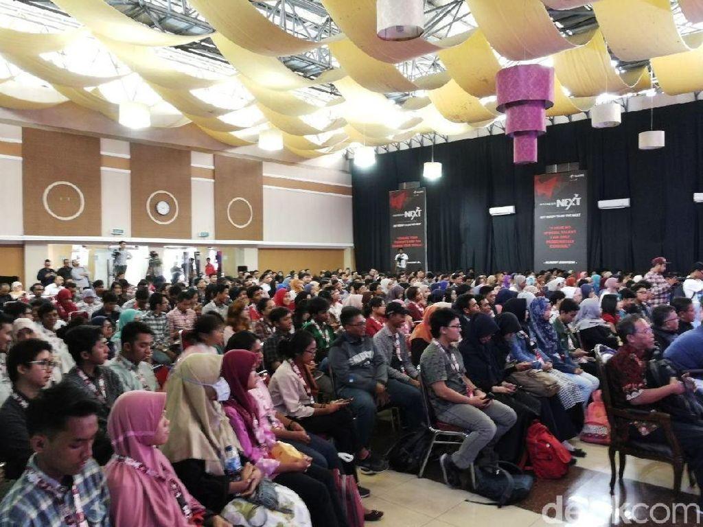Ratusan Mahasiswa Serbu IndonesiaNEXT demi Sertifikat Kerja