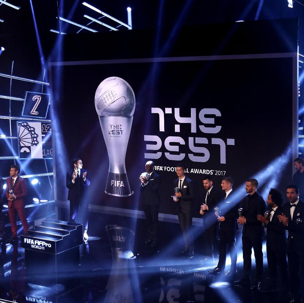Ini Daftar Pemenang The Best FIFA Football Awards 2017
